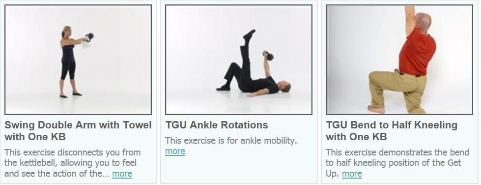 esempi di esercizi FMS