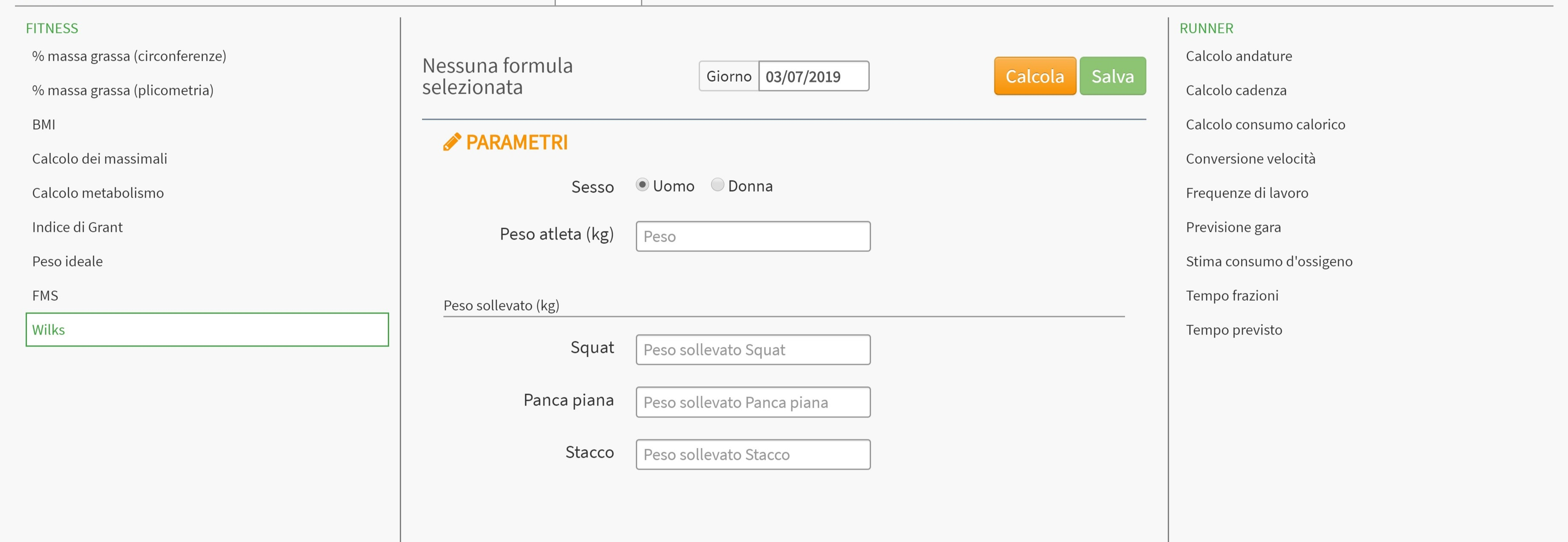 Screenshot of FitnessItaly (2)