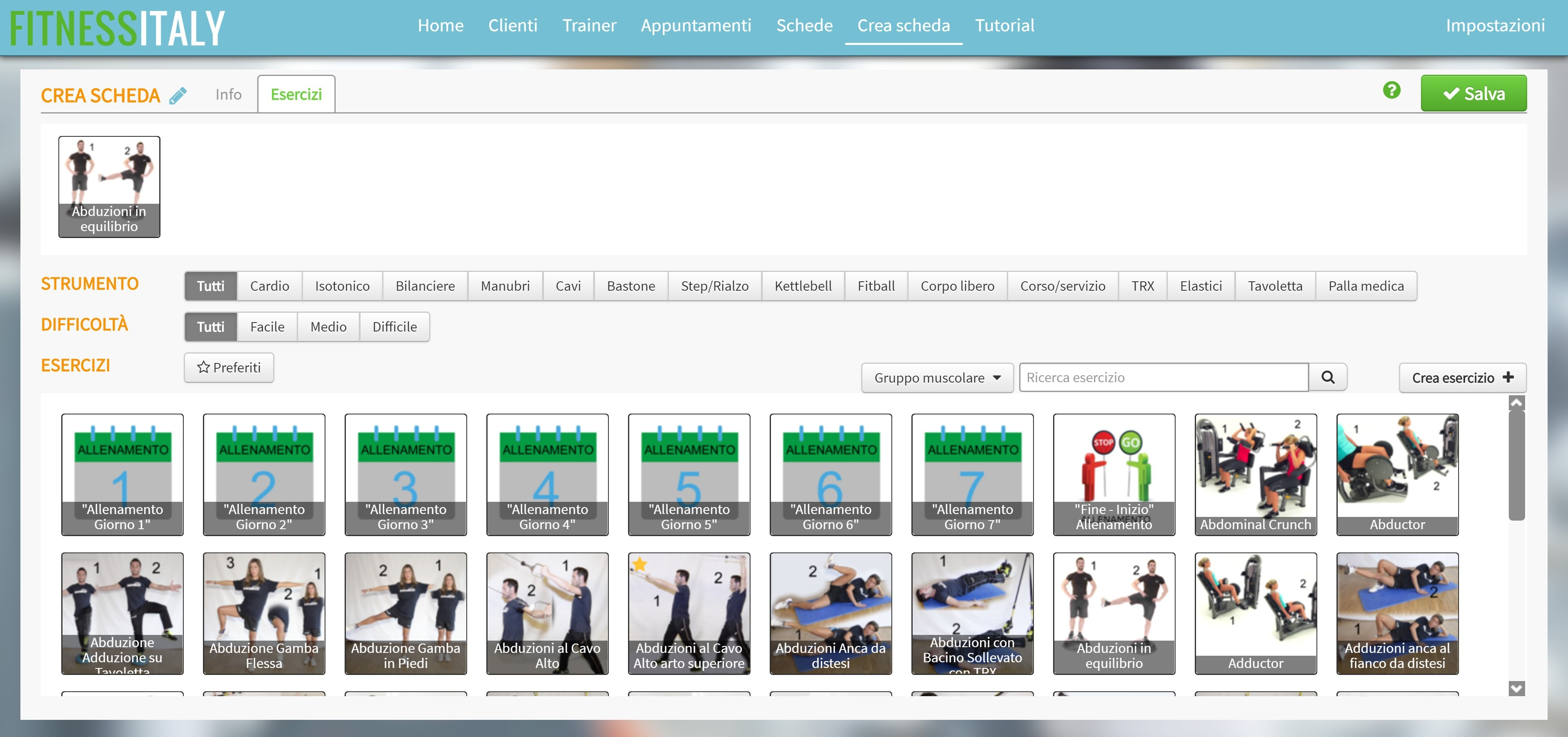 Screenshot of FitnessItaly (4)